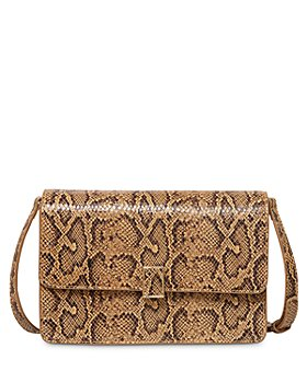 Loeffler Randall - Katalina Small Embossed Leather Shoulder Bag