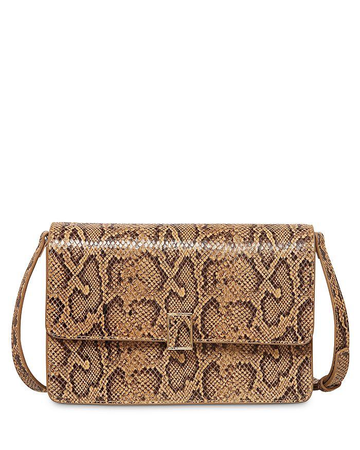 Loeffler Randall - Katalina Small Embossed Leather Shoulder Bag