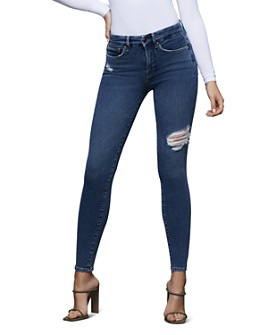 Good American - Good Legs High-Rise Skinny Jeans in Blue371