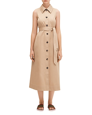 kate spade new york Classic Trench Coat Shirtdress-Women