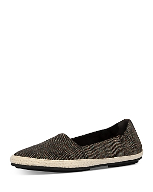 FitFlop Women\\\'s Siren Glitter Stripe Espadrille Loafers