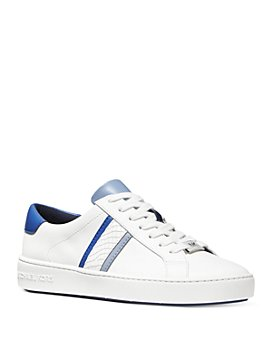 MICHAEL Michael Kors - Women's Irving Striped Lace Up Sneakers