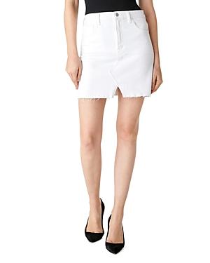 J Brand Jules Denim Mini Skirt