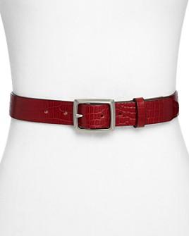 rag & bone - Women's Boyfriend Italian Leather Belt