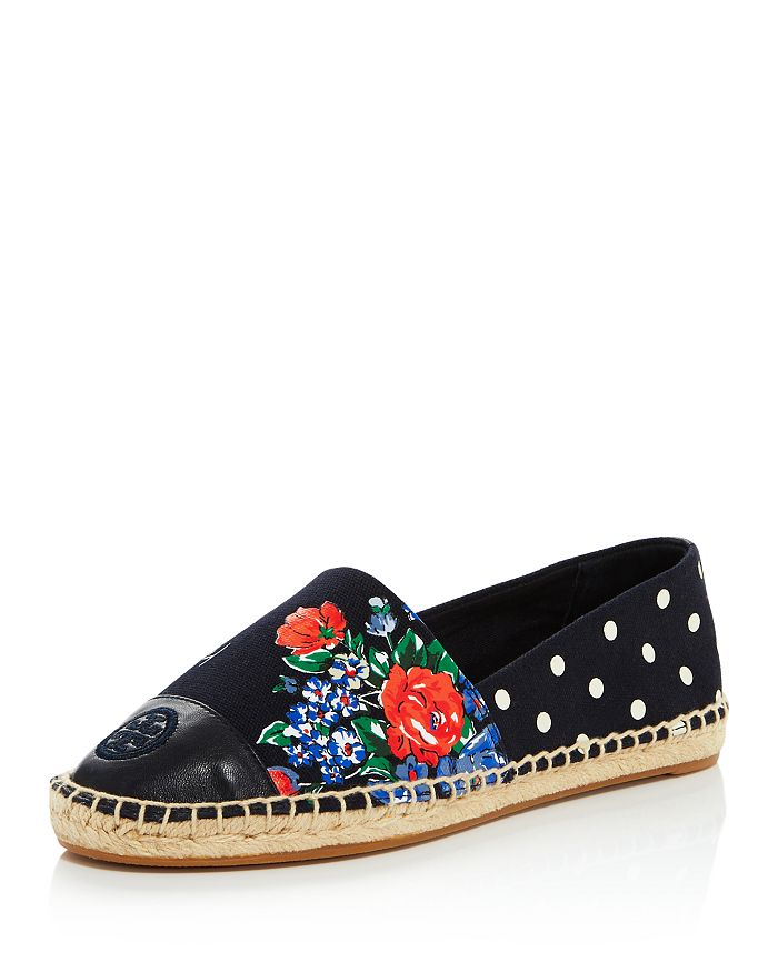 Tory Burch - Women's Color-Block Espadrille Flats