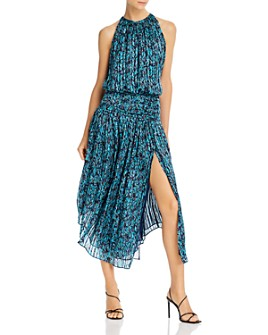 Ramy Brook - Layla Silk Printed Dress