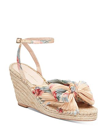 Loeffler Randall - Women's Charley Espadrille Wedge Heel Sandals