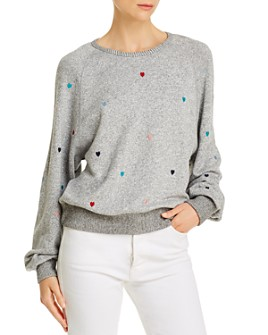 Rails - Mika Embroidered Hearts Sweatshirt