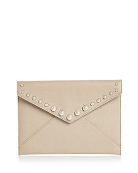 Rebecca Minkoff - Leo Small Leather Clutch