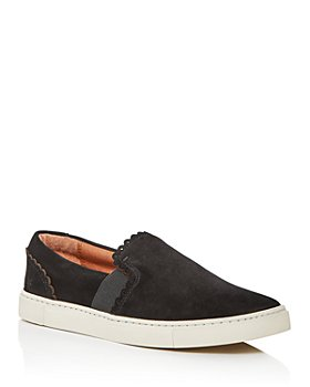 Frye - Women's Ivy Scallop Slip-On Sneakers