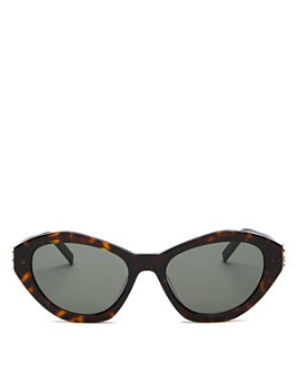 Saint Laurent - Unisex Cat Eye Sunglasses, 54mm