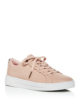 Ted Baker - Women's Tillys Scalloped Low-Top Sneakers