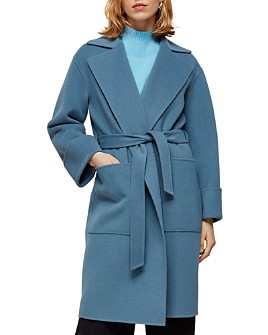 Whistles - Double-Faced Wool Wrap Coat