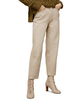 Whistles - High-Waist Barrel Leg Jeans