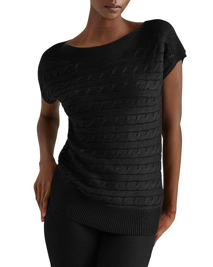 Ralph Lauren - Cabled Short-Sleeve Sweater