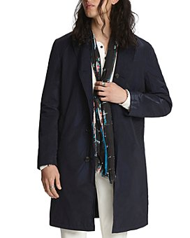 John Varvatos Collection - Reversible Regular Fit Trench Coat