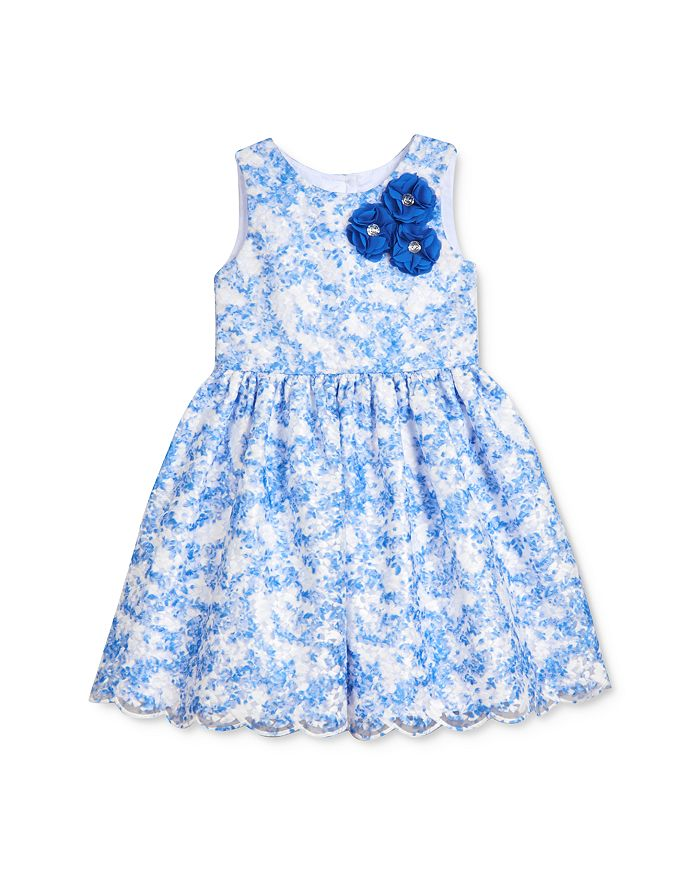 Pippa & Julie - Girls' Embroidered Fit-And-Flare Dress - Little Kid