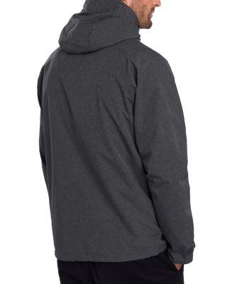 Black Camo Windbreaker by Surplus Raw Half Zip Coat Jacket Mens All Sizes