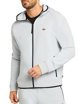 Lacoste - Contrast-Trim Zip-Up Sweatshirt