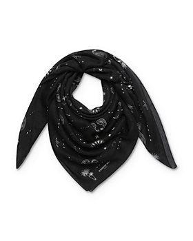 The Kooples - Paisley Printed Scarf