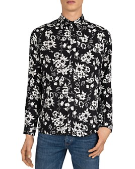 The Kooples - Midnight Bouquet Floral-Print Shirt