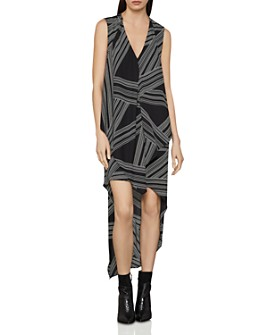 BCBGMAXAZRIA - Optic Georgette Dress