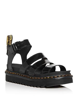 Dr. Martens Women\\\'s Blaire Ankle-Strap Platform Sandals