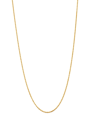 Bloomingdale's Rope Link Chain Necklace in 14K Yellow Gold, 18 - 100% Exclusive