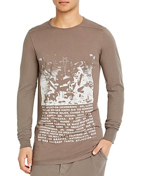 DRKSHDW Rick Owens - Level Cotton Long-Sleeve Graphic Tee