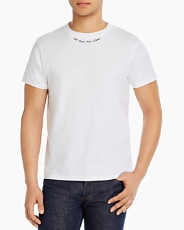 Maison Labiche - We Own The Night Cotton Embroidered Tee