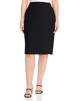 Eileen Fisher Plus - High-Waisted Pencil Skirt