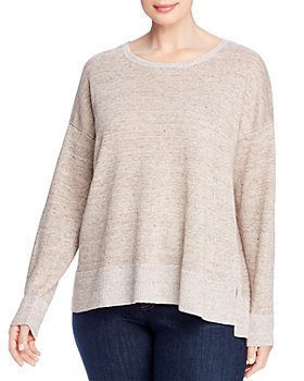 Eileen Fisher Plus - Round-Neck Boxy Sweater