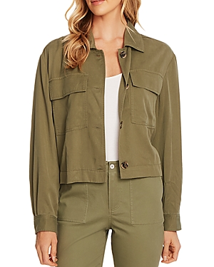 Vince Camuto Button-Front Jacket