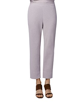 b new york - Cropped Pull-On Pants