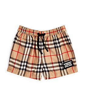 Burberry - Boys' Kameron Vintage Check Swim Trunks - Baby
