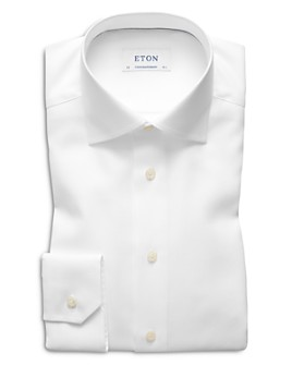 Eton - Herringbone Regular Fit Dress Shirt