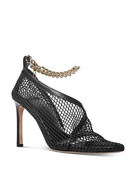 Bottega Veneta - Women's Embellished Caged Pumps
