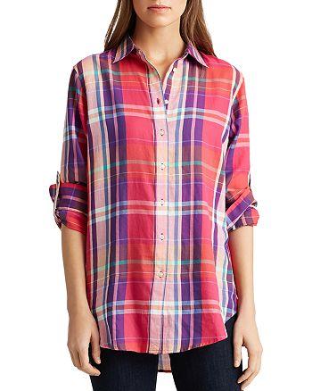 Ralph Lauren - Plaid Button-Down Shirt