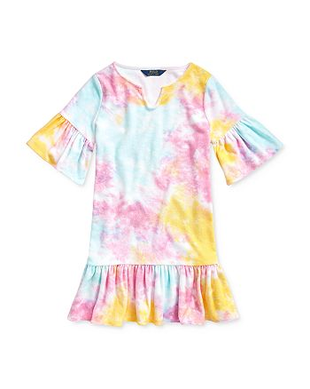 Ralph Lauren - Girls' Tie-Dyed Cover-Up Dress