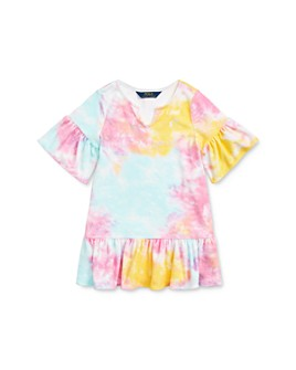 Ralph Lauren - Girls' Tie-Dyed Cover-Up Dress - Little Kid