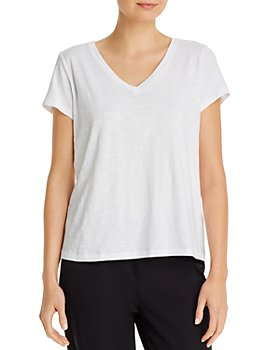 Eileen Fisher - V-Neck Tee
