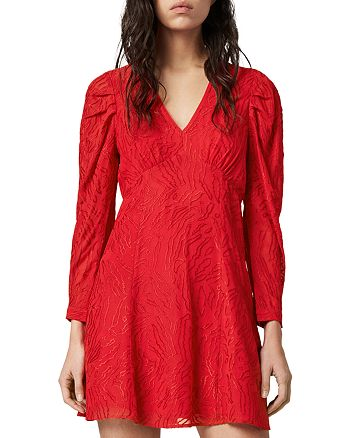 ALLSAINTS - Rosi Ani Embroidered Dress