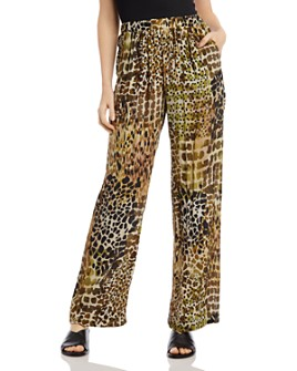 Karen Kane - Printed Wide-Leg Pants