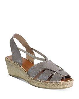 Andre Assous - Women's Dorit Strappy Espadrille Wedge Sandals