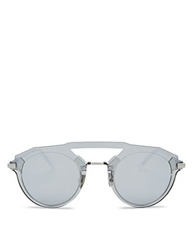 Dior - Men's Diorfuturistic Brow Bar Round Sunglasses, 47mm