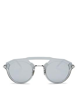 Dior - Men's Diorfuturistic Brow Bar Round Sunglasses, 47mm