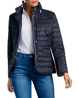 BASLER - Navy Short Quilted Puffer Jacket