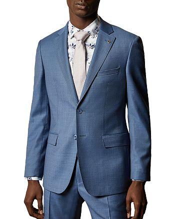 Ted Baker - HectorJ Debonair Sharkskin Modern Fit Suit Jacket