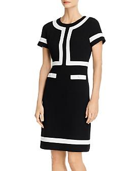 KARL LAGERFELD PARIS - Color-Blocked Dress