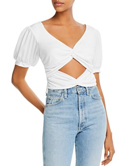 LANI THE LABEL - Twisted Cutout Top - 100% Exclusive